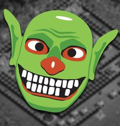 Picture of Clash of Clans - Goblin - Mask
