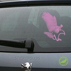 Tribal American Bald Eagle Decal