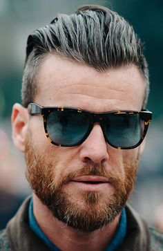 The Best Haircuts For A Receding Hairline: Longer Quiff #menshairstyles #menshair #recedinghair
