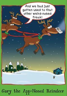 Gary the App-Nosed Reindeer #Walmart
