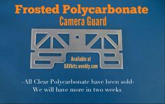 For all #DJI #Phantom 2 Vision Plus fans NEW Frosted Polycarbonate camera guard now on sale...