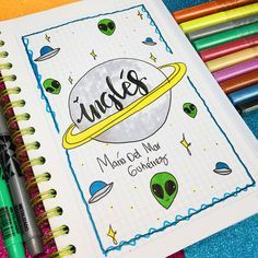 Best Bullet Journal Header & Title Ideas For 2020 - Crazy Laura Notebook Art, Bullet Journal School, Diy Tumblr, School Notebooks, Cute Notes, Decorate Notebook, Lettering Tutorial, School Notes, Study Notes