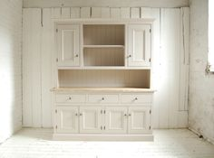 bespoke kitchen dresser with cupboards eastburn country furniture - Kitchen Dresser