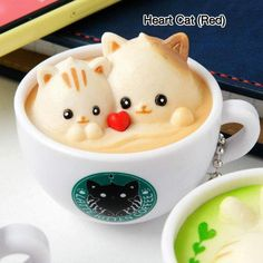 Latte Kitten Coffee Straps: New Flavor Strawberry & Matcha Series - café - coffee Recipes Coffee Latte Art, Coffee Love, Coffee Coffee, Coffee Beans, Coffee Creamer, Starbucks Coffee, Folgers Coffee, Coffee Jelly, Coffee Percolator