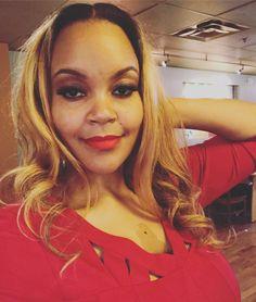 Blonde Hair Red Lips No Games. #classyblackgirl #blackgirlmagic