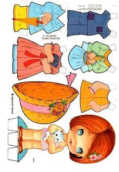 ru / Фото - ARTES COM PAPEL 2 - samlimeq Arielle Gabriel has free paper dolls at The International Paper Doll Society website! Cardboard Paper, Cardboard Crafts, Paper Toys, Paper Crafts, Paper Dolls Printable, Vintage Valentine Cards, Vintage Paper Dolls, Toy Craft, Doll Maker