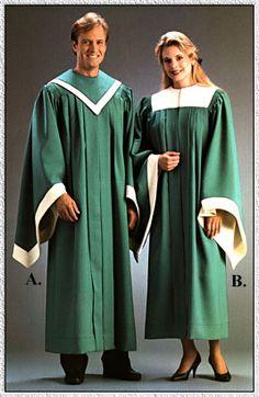 Harmony Counterpoint Choir Robe