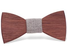 """""""Victor"""" - Unique handcrafted wooden bow ties made by Two Guys Bow Tie Co."""
