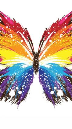 you are finding The butterfly wallpaper Image. You Can save This butterfly wallpaper Photo easy to your Laptop. Butterfly Painting, Butterfly Wallpaper, Butterfly Art, Rainbow Butterfly, Colorful Wallpaper, Butterfly Mobile, Butterfly Images, Glitter Wallpaper, Pink Wallpaper