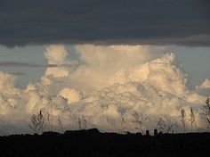 a beautiful thunderhead.