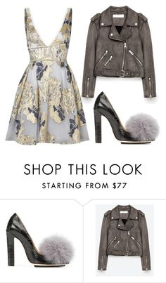 """Untitled #451"" by m-svarstad ❤ liked on Polyvore featuring Racine Carrée and Notte by Marchesa"