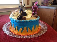 Sharkboy and Lavagirl cake that I designed ad made for my niece's birthday! Niece Birthday, Birthday Cake Girls, Birthday Ideas, Birthday Parties, Sharkboy And Lavagirl, Cakes For Boys, Girl Cakes, Childrens Party, Cake Designs