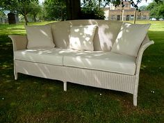 Original 1930s Lloyd Loom Sofa