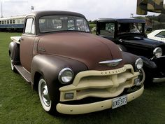'54 Chevy Pick up truck........Man!! I loved the blue chevy Johnny and I had .....