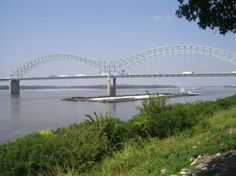 Mississippi River, Memphis, Tennessee, USA