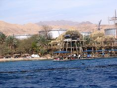Eilat, Israel - Public Spaces, dolphin observation area