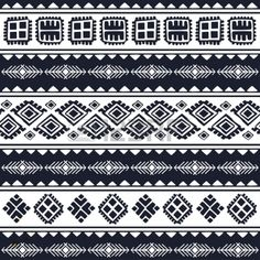 Tribal vintage ethnic pattern seamless illustration for your business Stock Vector - 23288506