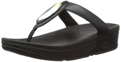 FitFlop Women's Chada Leather Flip-Flop >>> Continue to the product at the image link.