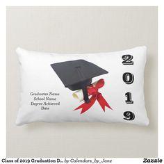 Shop Class of 2019 Graduation Day by Janz Lumbar Pillow created by Calendars_by_Janz. Korean Language Course, Custom Pillows, Decorative Throw Pillows, Online Bachelors Degree, Green School, Education Degree, Class Of 2019, Graduation Day, Online College