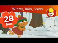 Wind, Rain, Snow     Luli TV Specials   Cartoon for Children - Luli TV - YouTube Sound Song, Itsy Bitsy Spider, Bedtime Stories, Nursery Rhymes, Children, Kids, Minnie Mouse, Rain, Animation