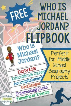 Check out these teaching tips for using the Who Was books series in a biography unit in your classroom. A list of the books in the series and a free Who is Michael Jordan flipbook is also included!
