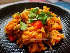 """マダムTOMATOの""""グルメ・ガーデン"""" Cajun chicken rice ケイジャンチキンライス  http://mmetomato.blogspot.fr/ http://mmetomato2.blogspot.fr/"""