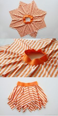 12 cool back to school to make DIY children's clothing in a timely manner - diy kleidung - DIY & Crafts Fashion Kids, Fashion Sewing, Diy Fashion, Trendy Fashion, Skirt Fashion, Fashion Dolls, Fashion Trends, Diy Clothing, Sewing Clothes