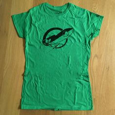 SUPER LIMITED Green Edition Rocket Bunny Women's T-Shirt!
