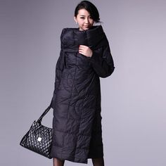 Puffer Coat With Full Skirt by Marios Schwab for Preorder on Moda ...