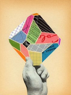 Geometric Collages : Bill Zindel