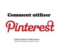 Tutoriel comment utiliser Pinterest