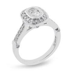 Malakan Jewelry - White Gold Diamond Engagement Ring 31650AA
