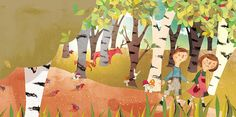 Hansel & Gretel by Josée Bisaillon, via Behance