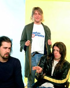 Nirvana, London, 1991
