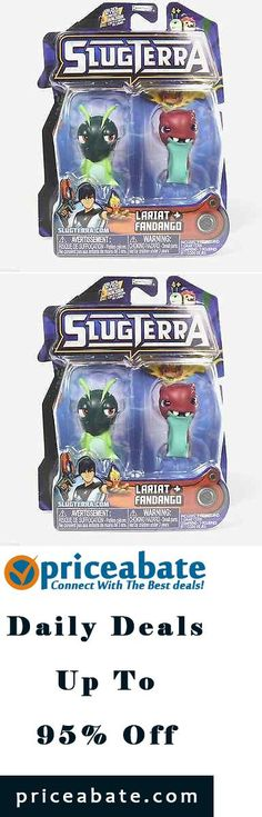 #priceabatedeals Disney SlugTerra Mini Action Figure 2 pack LARIAT + FANDANGO New Unopened Rare - Buy This Item Now For Only: $16.99