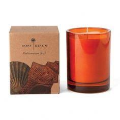 Rosy Rings Botanica Mediterranean Coast Candle