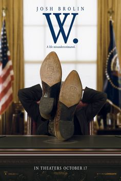 W. , starring Josh Brolin, Elizabeth Banks, Ioan Gruffudd, Colin Hanks. A chronicle on the life and presidency of George W. Bush. #Biography #Drama #History