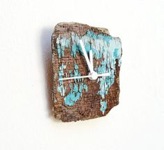 Shipwreck Clock  Driftwood Wall Hanging by GiftsandStars on Etsy, $48.00