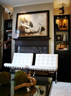 A Francine Turk Piece Featured In Home Designed By Chicago Interior Designer Mia Rao