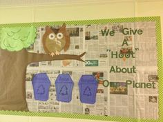 Recycling Bulletin board