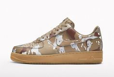 NIKEiD Air Force 1 Reflective Camo Pack