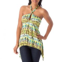 Keyhole Halter Tunic - Get-Noticed Fashions -