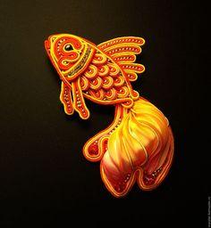 Poisson soutache Ribbon Jewelry, Ribbon Art, Diy Ribbon, Bead Jewellery, Embroidery Leaf, Silk Ribbon Embroidery, Soutache Earrings, Beaded Brooch, Shibori