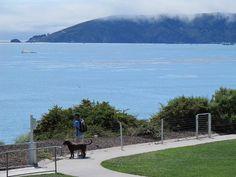 Dolphin Bay Resort Walkway, Shell Beach, San Luis Obispo California
