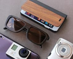 wooden sunglasses- Summer vacations are on and it is the perfect time to get our Biker Charcoal Bamboo sunglasses. Not only does it make you look stylish but the polarised lenses makes the sunglasses perfect for outdoors. Vacations also mean broken phones for a lot of people, so for them we got you covered. Featured here is our Walnut Flip case. The case will not only give your phone an all round protection but also protects the screen from shattering. What more reasons do you need to buy…