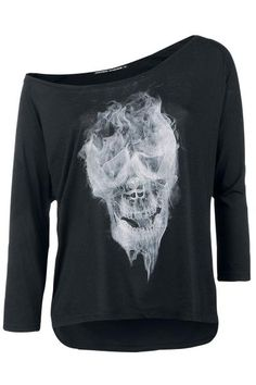 OMG How I want this!!! Smoking Skull Top