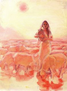 Rachel, by Rose Datoc Dall - since we're going over Jacob right now during the readings at Mass