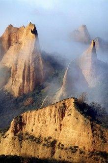 Las Médulas, El Bierzo, Leon #Spain