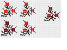 Tiny Cross Stitch, Cross Stitch Alphabet, Cross Stitch Flowers, Cross Stitch Patterns, Alphabet Charts, Loom Weaving, Embroidered Flowers, Flower Patterns, Needlework