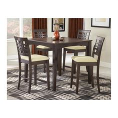 Hillsdale Furniture Tiburon 5-Piece Counter Height Dining Set